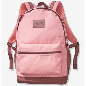Pink Victoria's Secret Rose Campus Backpack New